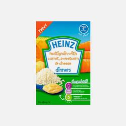【包邮包税】英国直邮亨氏婴幼儿营养米粉胡萝卜粟米 100g*2盒(7个月以上)