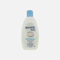 【包邮包税】 美国AveenoBaby艾维诺宝宝天然燕麦洗发沐浴液236ml