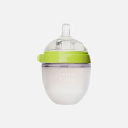 香港直邮【包邮包税】Comotomo可么多么宽口径全硅胶奶瓶 绿色 150ml