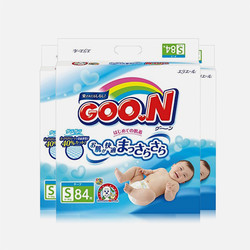 【包邮包税】日本大王GOO.N维E纸尿裤S84片【3包组合】