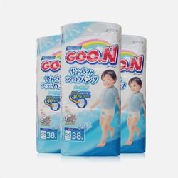 【包邮包税 3包装】日本大王GOO.N拉拉裤(男) XL38