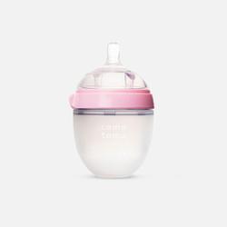 【包邮包税】美国可么多么Comotomo 硅胶奶瓶 粉色款(150ml)/瓶小单粉