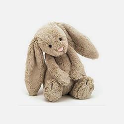 美国直邮包邮包税Jellycat邦尼兔经典害羞毛绒公仔 中号 多款可选