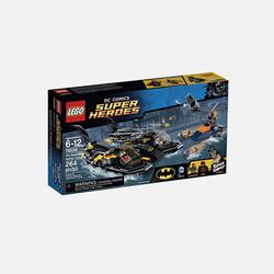 美国直邮LEGO 乐高超级英雄系列 蝙蝠船海港追击 积木玩具拼搭 76034