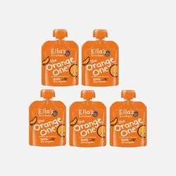 英国直邮【包邮包税】Ella's Kitchen艾拉厨房 有机橘色果泥90g 6月+ (5包装)