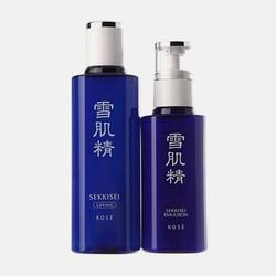 香港直邮【包邮包税】雪肌精 SEKKISEI 美白水乳套装 化妆水200ML+乳液140ML