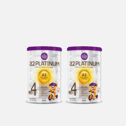 【2罐包邮包税澳洲直邮】A2婴幼儿奶粉4段900g*2 优质物流