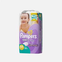 【包邮包税】日本帮宝适(Pampers) 婴儿纸尿裤 紫帮 M50 尿不湿